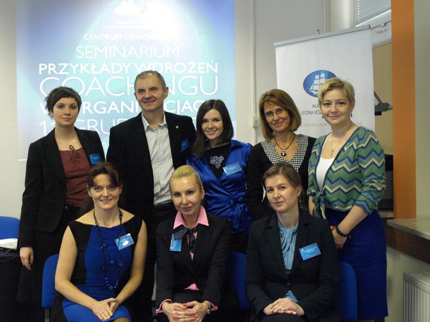 III Seminarium Centrum Coachingu ALK Czynniki sukcesu w organizacjach