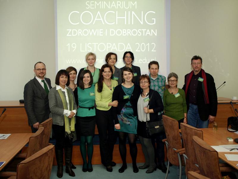 """II Seminarium Centrum Coachingu ALK Coaching """"Zdrowie i Dobrostan"""""""